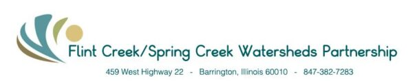 Flint Creek/Spring Creek Watersheds Partnership Logo and address